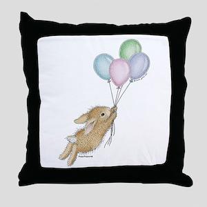 HMLR1045_balloonsnobckgrnd copy Throw Pillow