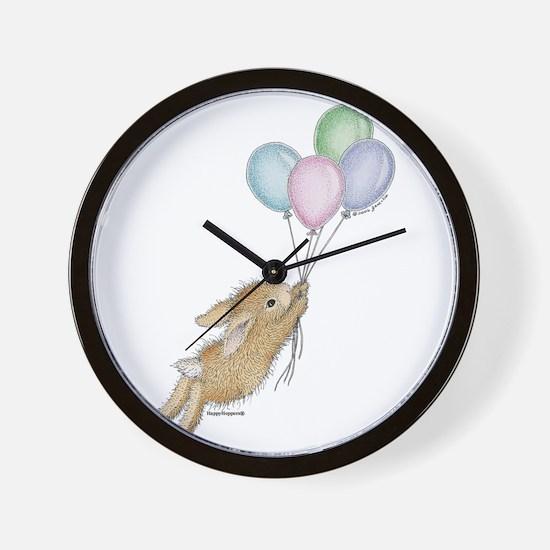 HMLR1045_balloonsnobckgrnd copy.jpg Wall Clock