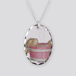 HappyHoppers® - Bunny - Necklace Oval Charm
