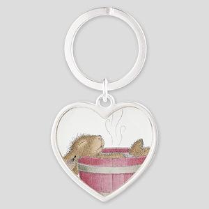 HappyHoppers® - Bunny - Heart Keychain