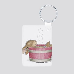 HappyHoppers® - Bunny - Aluminum Photo Keychain