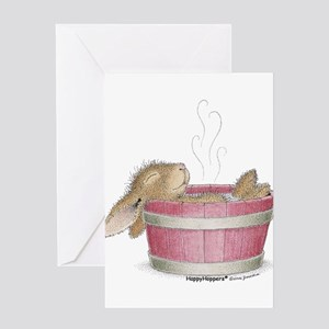 HappyHoppers® - Bunny - Greeting Card