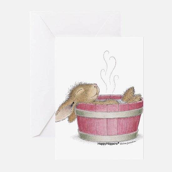 HappyHoppers® - Bunny - Greeting Cards (Pk of 10)