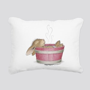 HappyHoppers® - Bunny - Rectangular Canvas Pillow