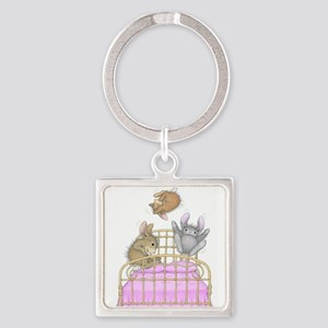 HappyHoppers® - Bunny - Square Keychain