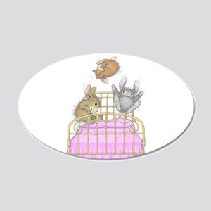 HappyHoppers® - Bunny - 20x12 Oval Wall Decal