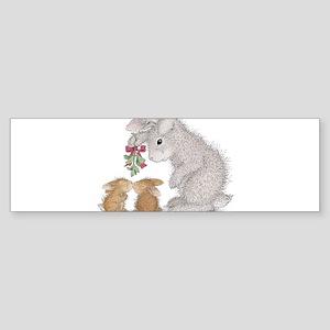 Bunny Kisses Bumper Sticker