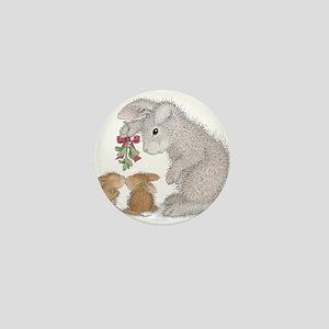 Bunny Kisses Mini Button