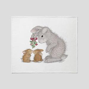 Bunny Kisses Throw Blanket
