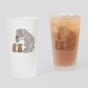 Bunny Kisses Drinking Glass