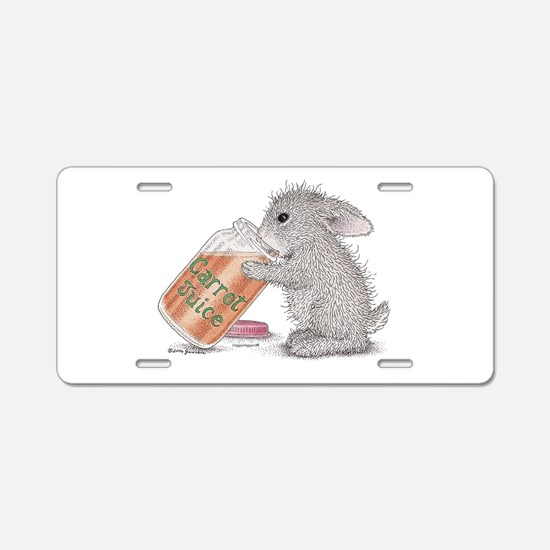 Carrot Juice - Aluminum License Plate
