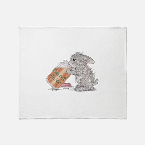 Carrot Juice - Throw Blanket