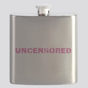 Uncensored 1 (Pink) Flask