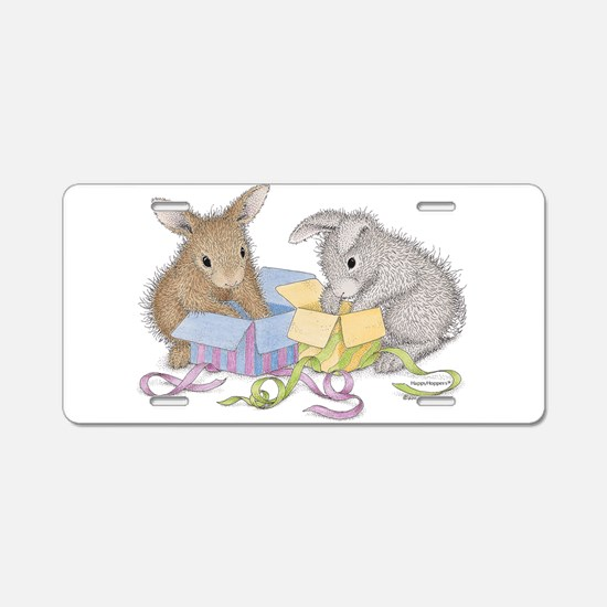 Hoppy Birthday - Aluminum License Plate