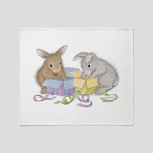 Hoppy Birthday - Throw Blanket
