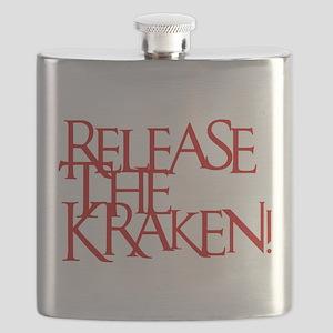 Kraken (Red) Flask
