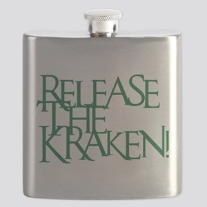 Kraken (Green) Flask