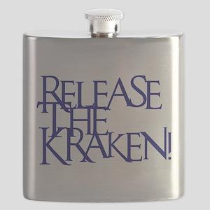 Kraken (Blue) Flask