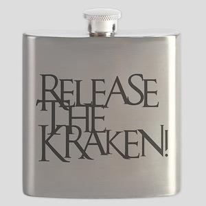 Kraken (Black) Flask