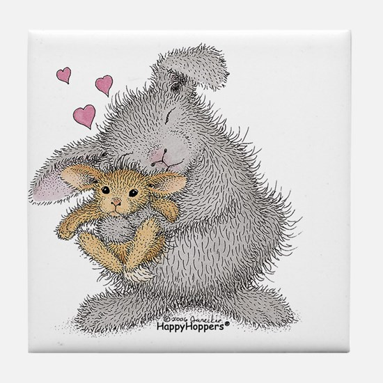 Love Bunny - Tile Coaster