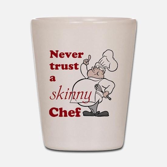 Skinny Chef Shot Glass