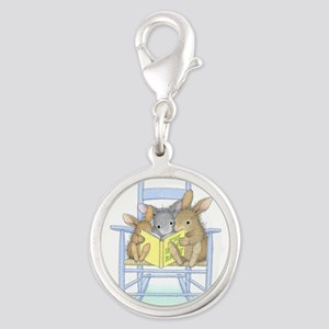 Tall Tales Silver Round Charm