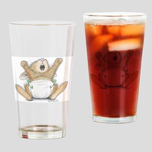Yaaaawn Drinking Glass