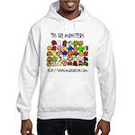 'Tis The Monsters Hooded Sweatshirt