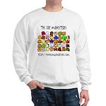 'Tis The Monsters Sweatshirt