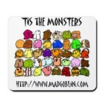 'Tis The Monsters Mousepad