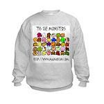 'Tis The Monsters Kids Sweatshirt