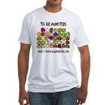 'Tis The Monsters Fitted T-Shirt