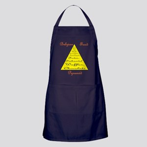 Belgian Food Pyramid Apron (dark)