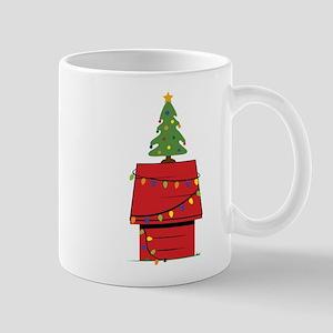 Holiday Dog House Mug