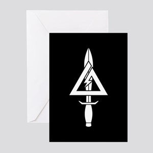 1st SFOD-D (B-W) Greeting Cards (Pk of 10)