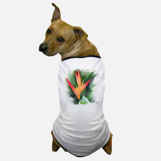 Bird of Paradise Dog T-Shirt