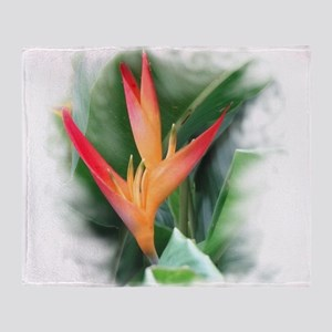 Bird of Paradise Throw Blanket