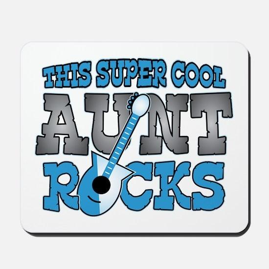 Aunt Rocks Mousepad
