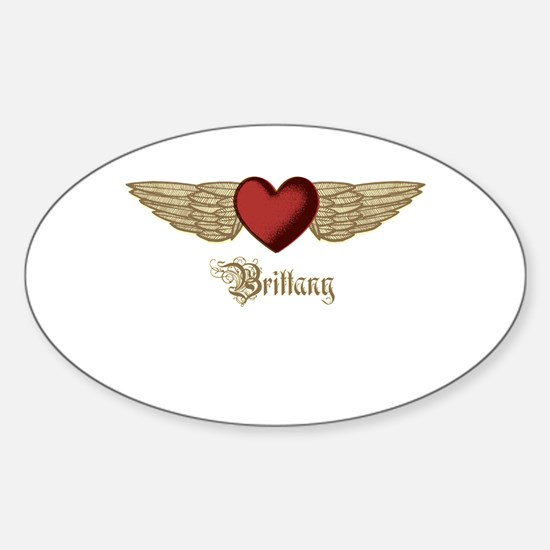 Brittany the Angel Decal