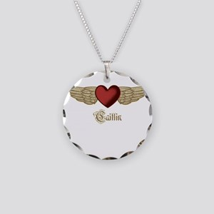Caitlin the Angel Necklace