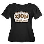 Zion National Park Women's Plus Size Scoop Neck Da