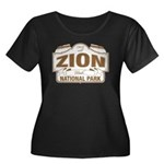Zion National Park Women's Plus Size Scoop Neck Da