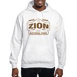 Zion National Park Hooded Sweatshirt
