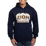 Zion National Park Hoodie (dark)