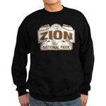Zion National Park Sweatshirt (dark)
