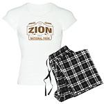 Zion National Park Women's Light Pajamas