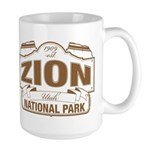 Zion National Park Large Mug