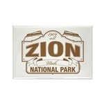 Zion National Park Rectangle Magnet (100 pack)
