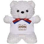 Zion National Park Teddy Bear