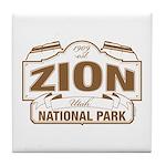 Zion National Park Tile Coaster